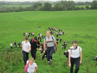 School walk to Tournant