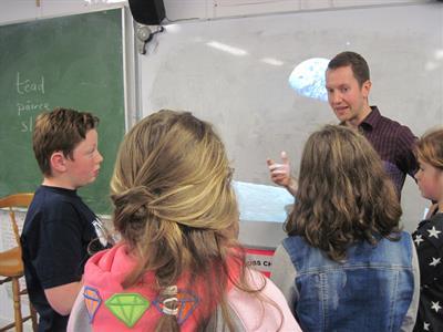 Astrophysicist visits Senior classes