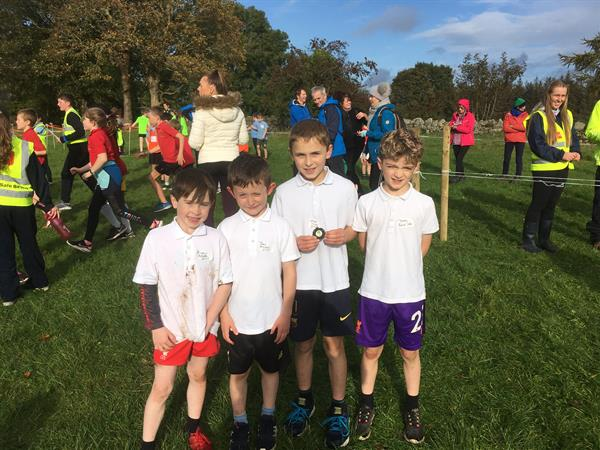 Cumann na mBunscol cross country races
